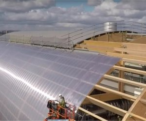 SAFETY NETTING & EDGE NETTING FOR LEEDS ENERGY FROM WASTE, A GLULAM TIMBER BUILDING